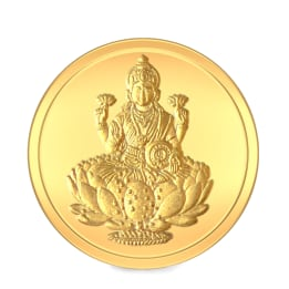 5 GM 24 KT Lakshmi Gold Coin