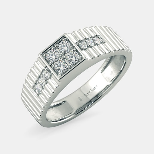 Buy 50 Mens Engagement Ring Designs Online in India 2018 BlueStone