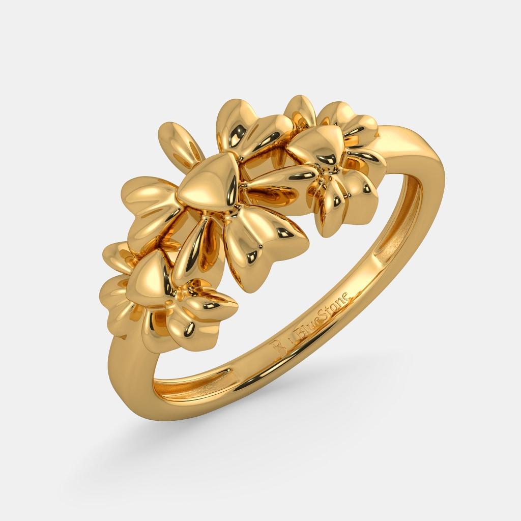 The Floral Order Ring | BlueStone.com