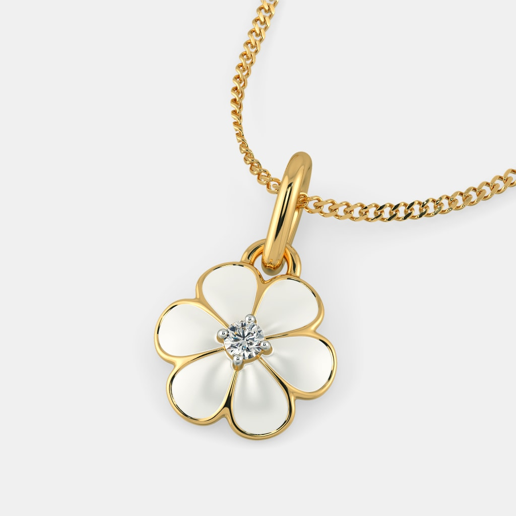The floral joy pendant for kids bluestone the floral joy pendant for kids aloadofball Gallery