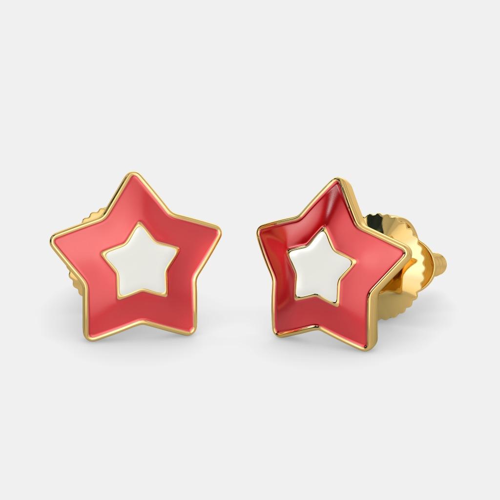 The Star Of Joy Earrings For Kids