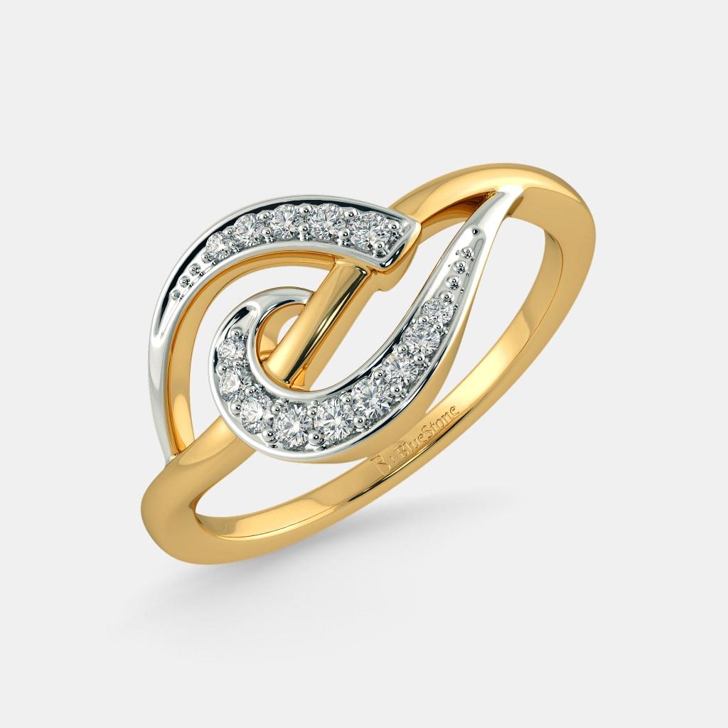 Buy 300+ Diamond Hearts Ring Designs Online in India 2018 | BlueStone