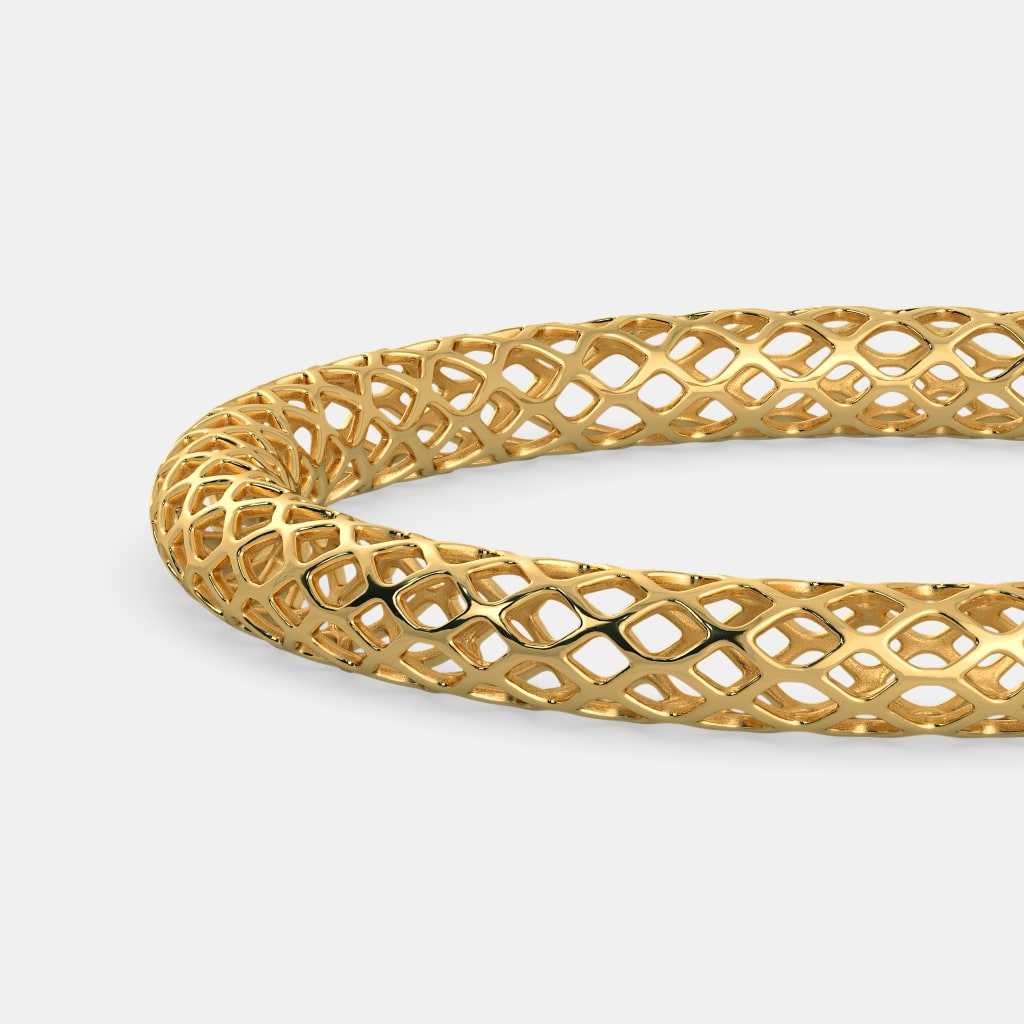Simple Gold Bracelet Designs - In Rubber Bracelets