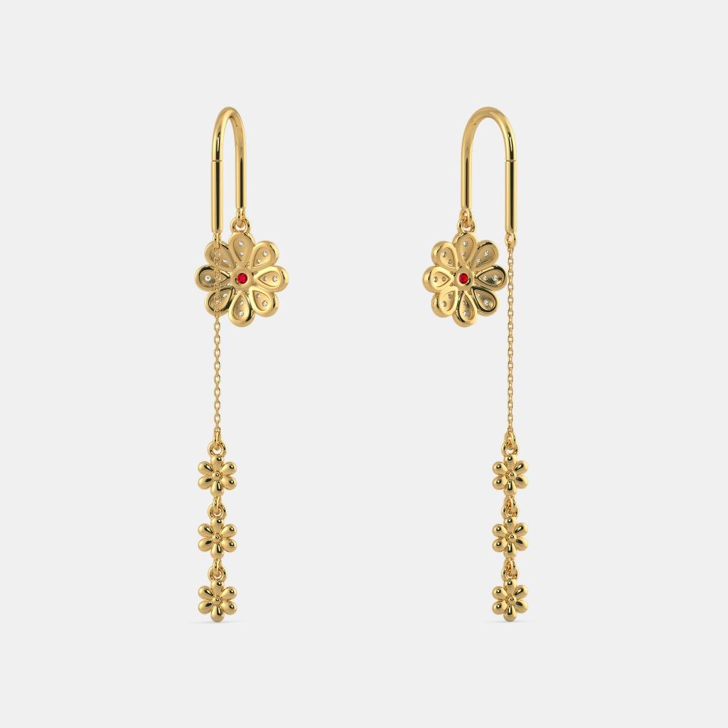 The Siya Sui Dhaga Earrings | BlueStone.com