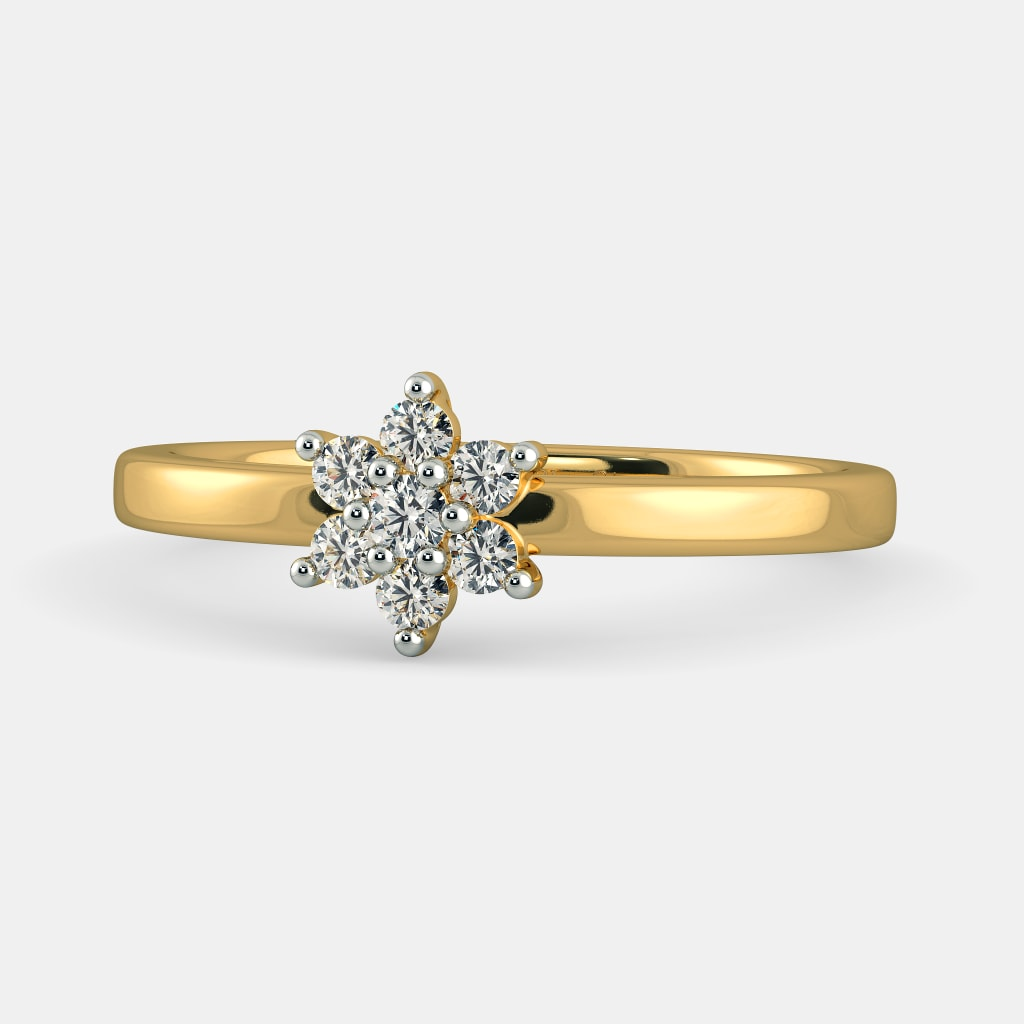 vine diamonds engagement fleur and rose wedding flowery gallery natural attractive ivy flower white gold rings ring