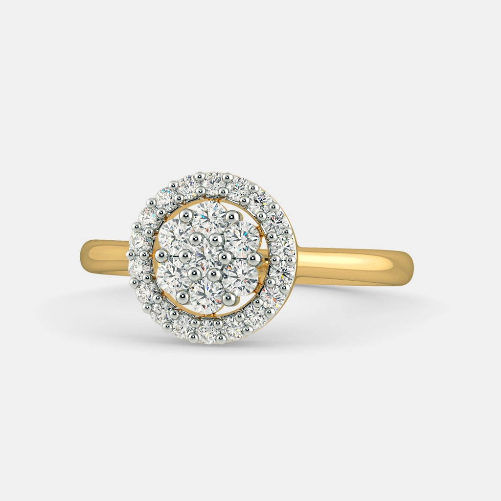 diamond composite v in p gold ring ct w white tw t