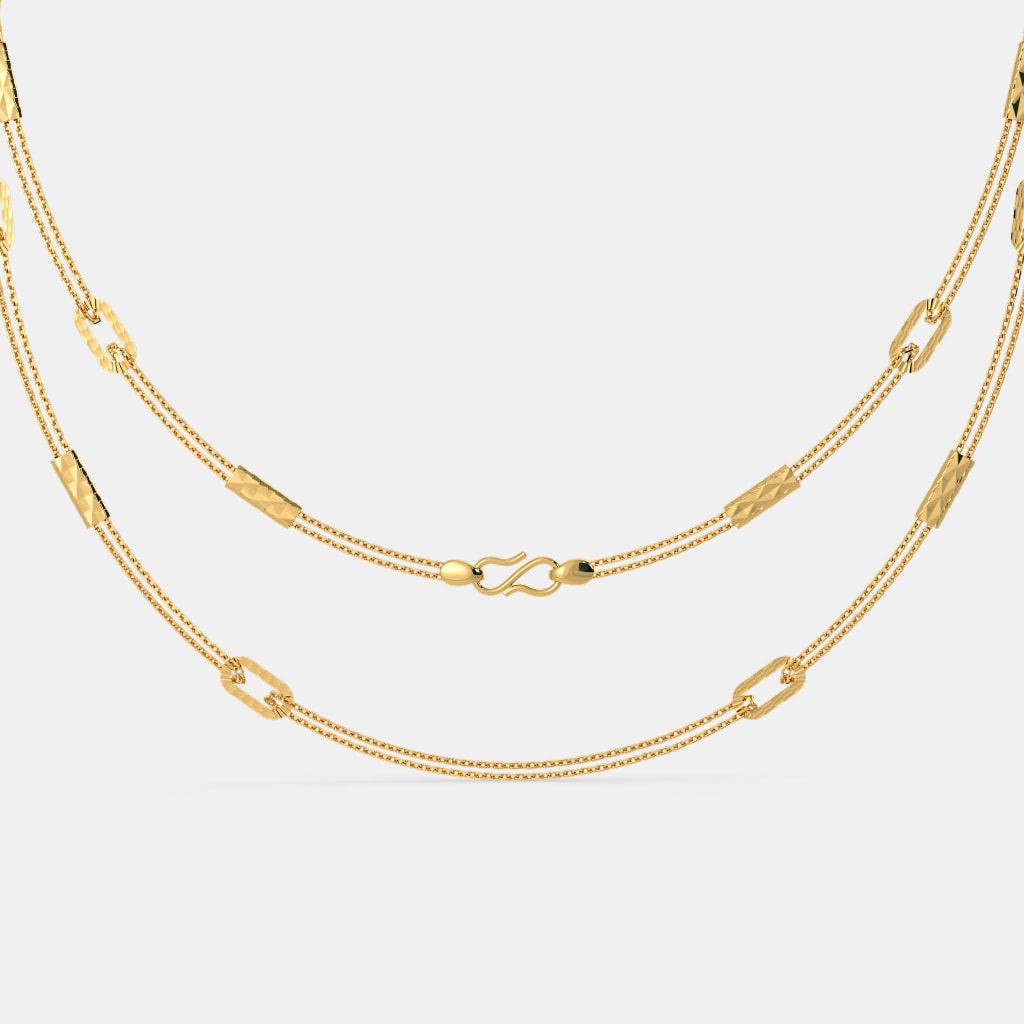 Buy 22k Gold Chain Designs Online in India 2018 | BlueStone