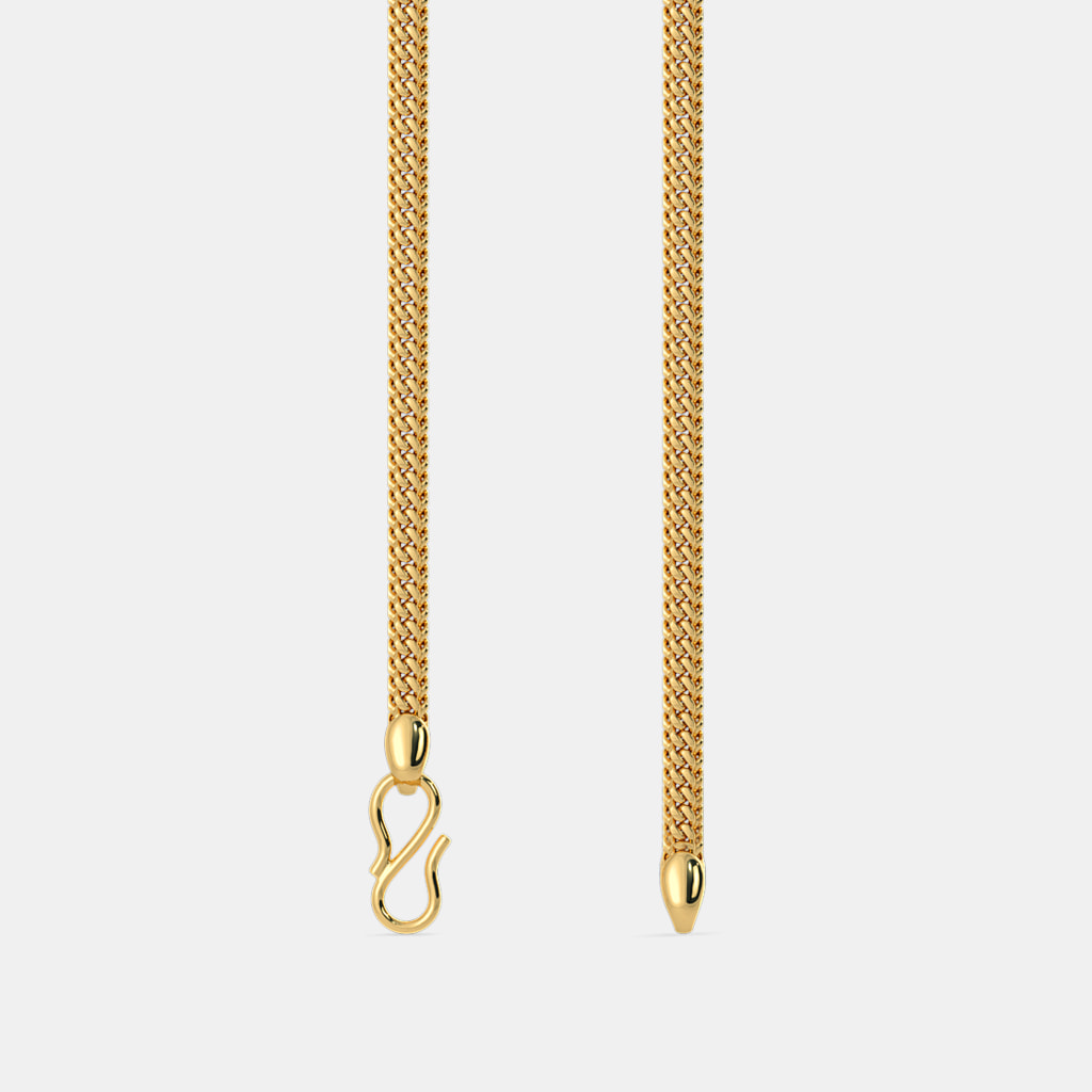 The adhamya gold chain bluestone the adhamya gold chain aloadofball