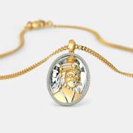 The sacred ek onkar pendant bluestone the anjaneya pendant aloadofball Images