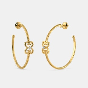 The B Iconic Rava Hoop Earrings