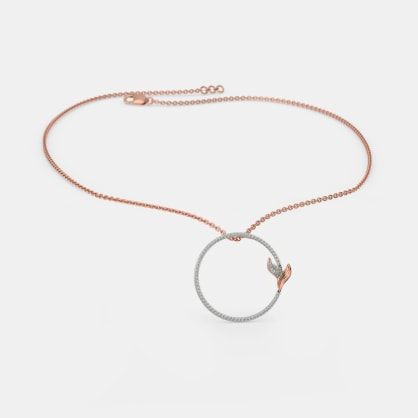 The Folium Roseate Necklace