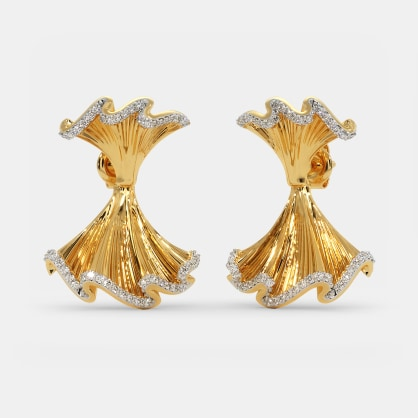 The Tango Front Back Earrings