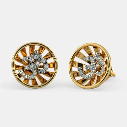 The Sunburst Stud Earrings