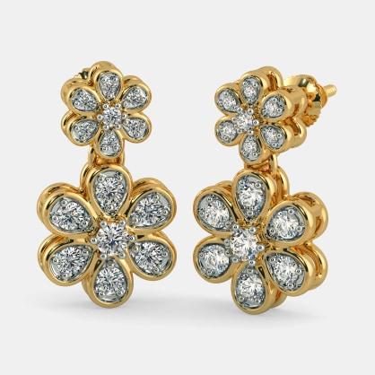 The Pushp Apsara Earrings