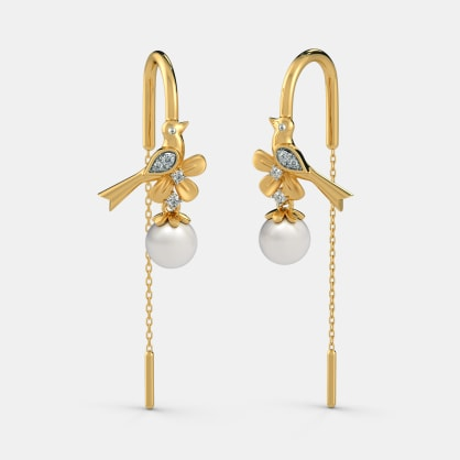 The Avelina Sui Dhaga Earrings