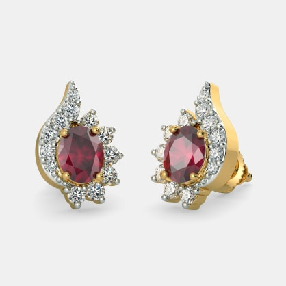 The Flowerona Stud Earrings