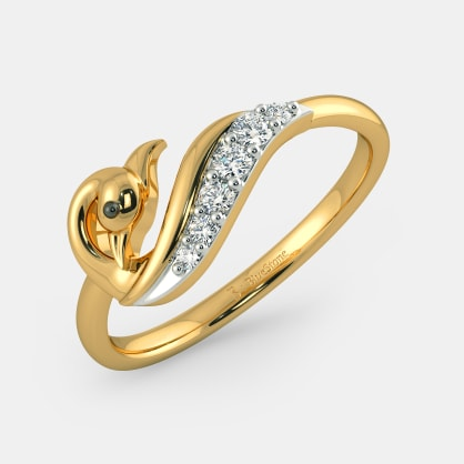 The Unwind Feather Ring