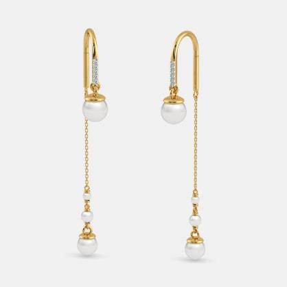 The Sheer Arc Earrings