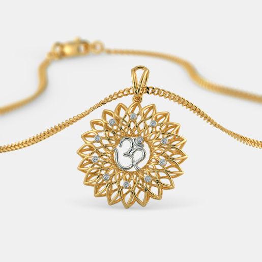 The Om Chakra Pendant