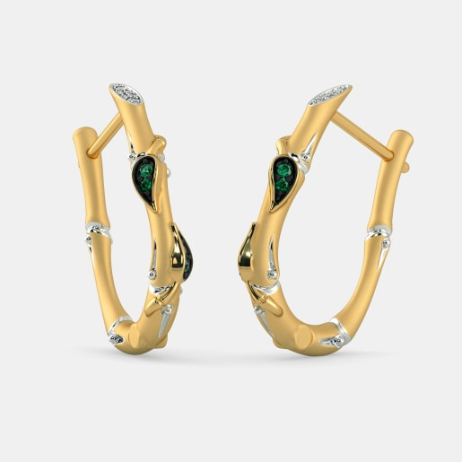The Ilisha Hoop Earrings