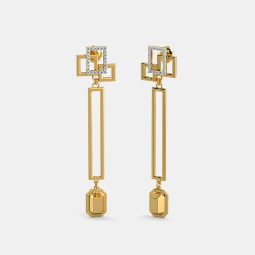 The Elongated Axis Earrings