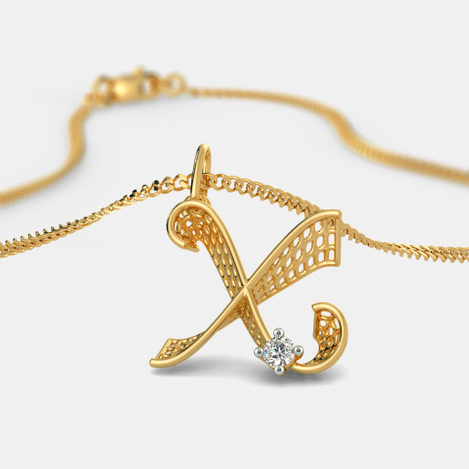 Alphabet pendants buy 50 alphabet pendant designs online in the xenial x pendant mozeypictures Choice Image