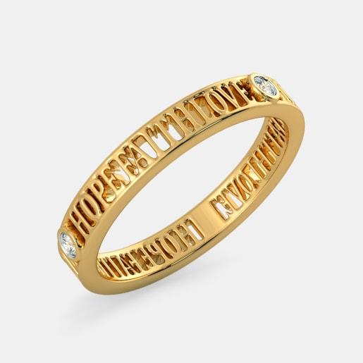 The Hope Faith Love Ring