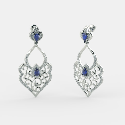 The Mandakini Drop Earrings