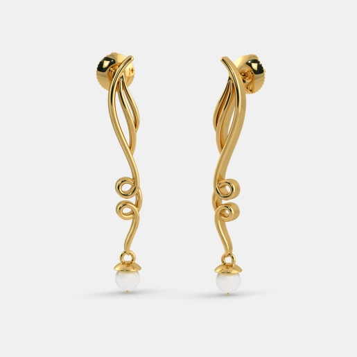 The Bashful Tendril Earrings