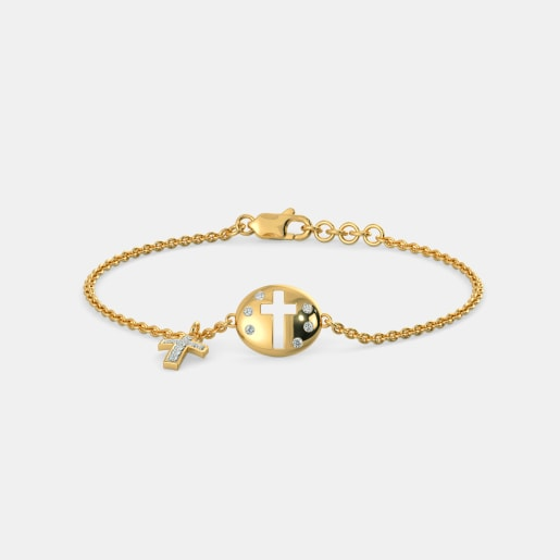 The Tiyana Cross Bracelet