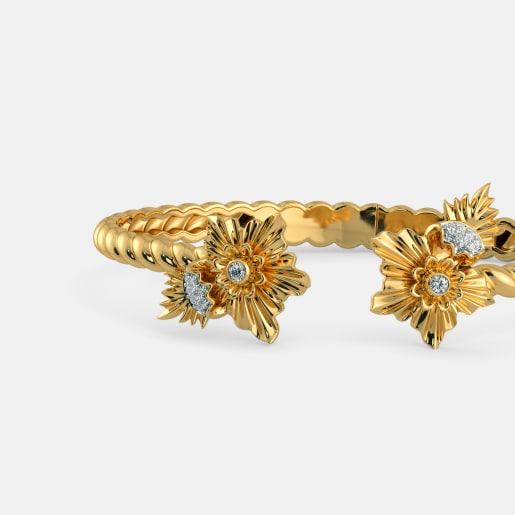 The Gulbahar Oval Bangle