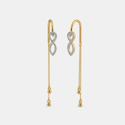 The Refined Twirl Earrings