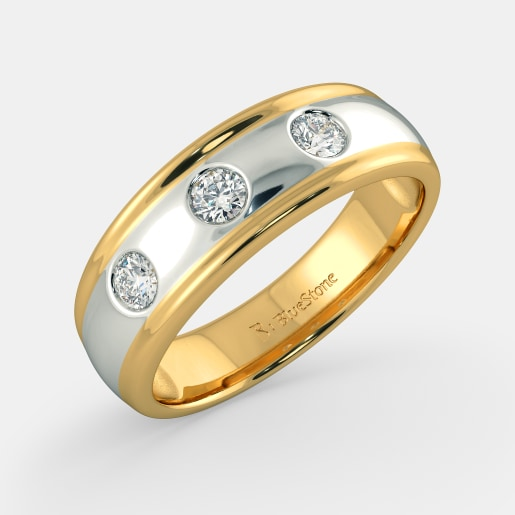 rs 28 004 diamond ring in yellow gold gram with diamonds 0