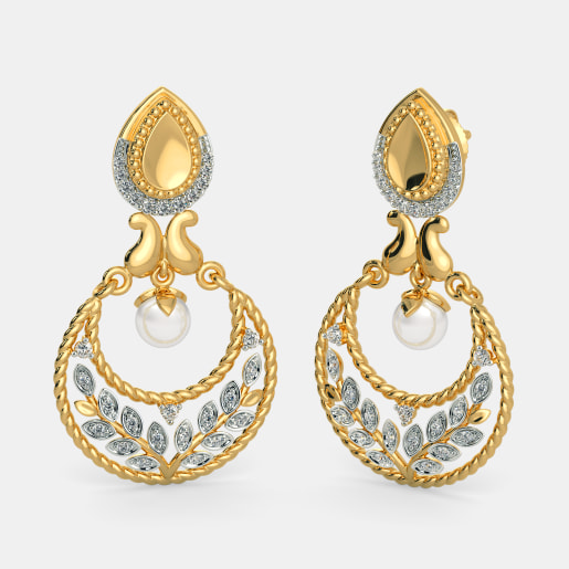 The Naaz Chand Bali Earrings