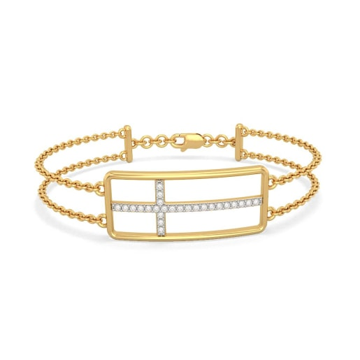 The Adah Cross Bracelet