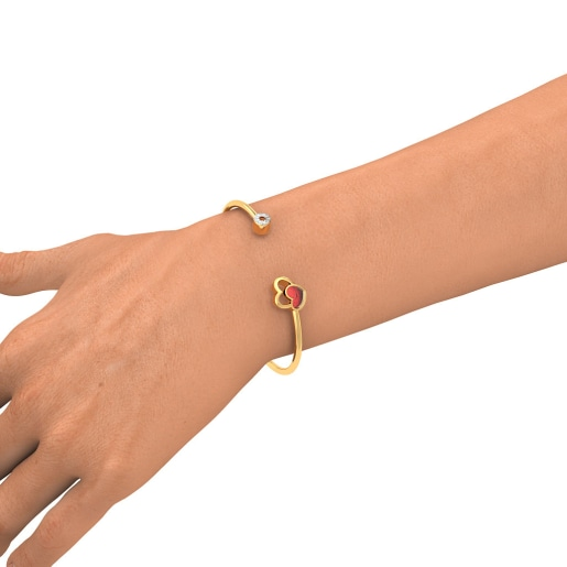 The Palakshi Twister Bangle
