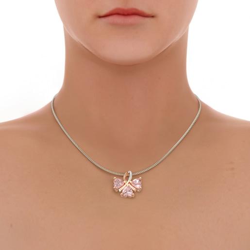 The Alonza Rose Quartz Pendant