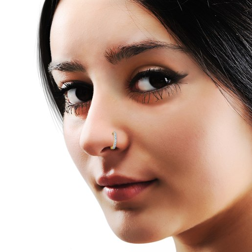 The Aureole Nose Ring
