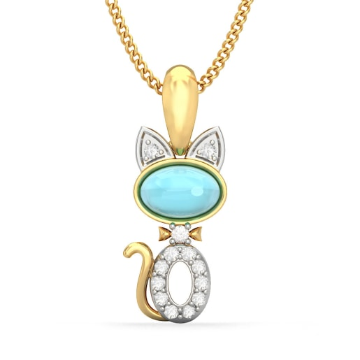 The Tabby Cat Pendant For Kids