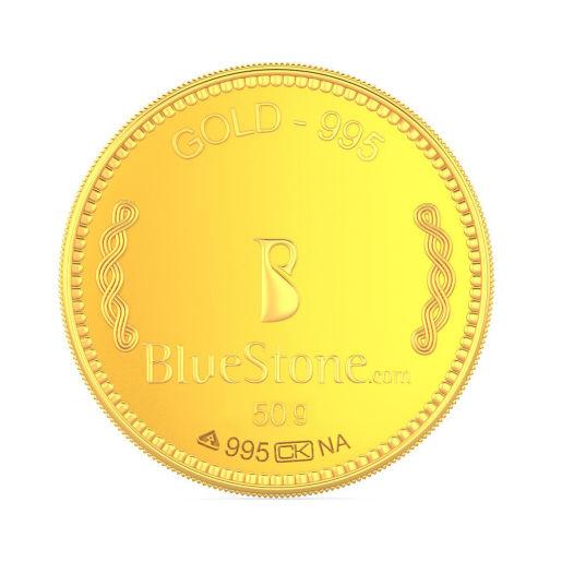 50 gram 24 KT Gold Coin
