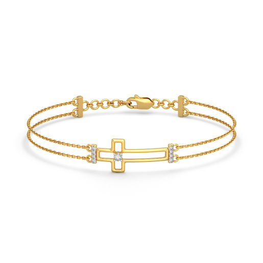 The Bethany Cross Bracelet