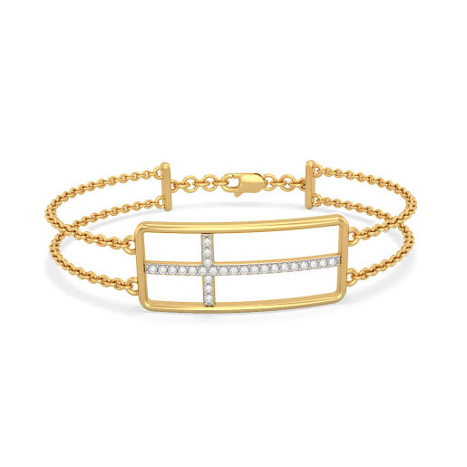 The Adah Cross Bracelet